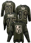 Golden Knights Military Appreciation Jersey Customization JERSEY NOT INCLUDED ***