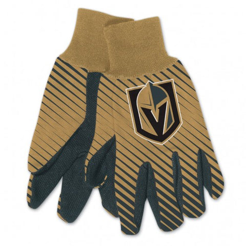 Golden Knights Two Toned Gloves