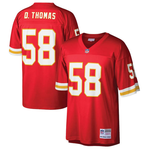 Kansas City Chiefs Derrick Thomas #58 Legacy Jersey - Red