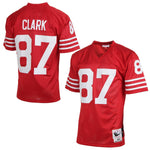 San Francisco 49ers Clark #87 Legacy Jersey - Red