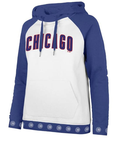 Chicago Cubs Wash Callback Women's Hoodie