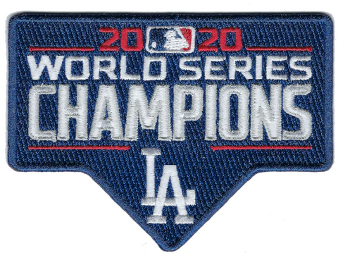 Dodgers 2020 Champions Patch
