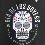 Los Angeles Dodgers 2020 World Series Champions Dia De Los Doyers T-Shirt