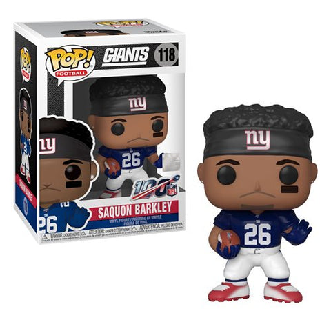 Funko POP! NFL: Giants Saquon Barkley #118