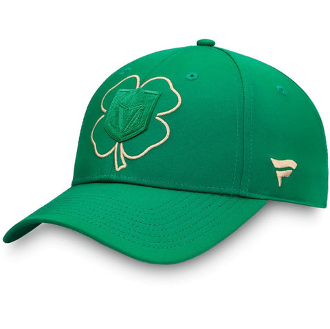 Vegas Golden Knights Fanatics Branded St. Patrick's Day Snapback Hat - Kelly Green