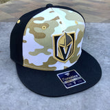 Golden Knights Fitted Mute Camo/Black Logo Fitted Hat