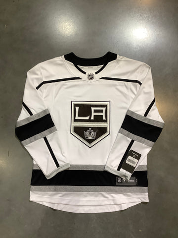 LA Kings Men's Fanatics White Away Jersey