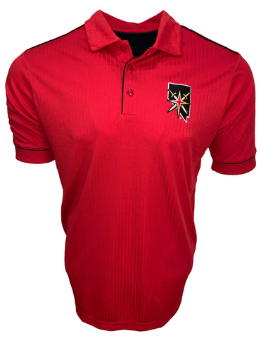 Golden Knights Mens Salute Polo - Red