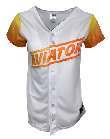 Aviators Women's Home Jersey- White