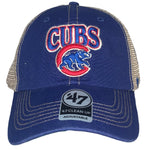 Chicago Cubs Womens Vintage Mesh Clean Up