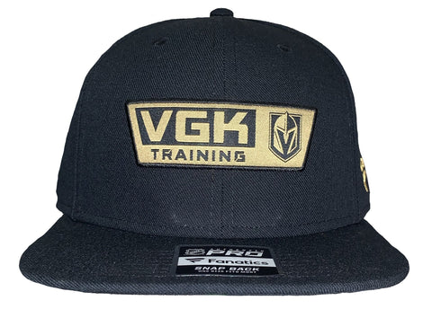 Golden Knights Authentic Pro Rink Training Snapback Hat - Black