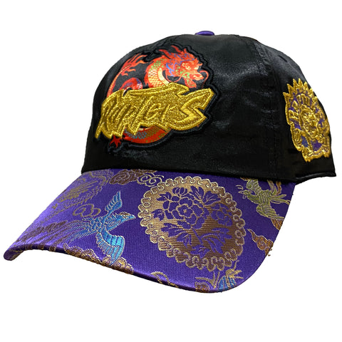 Toronto Raptors Chinese New Year New Dawn Silk Strapback Hat