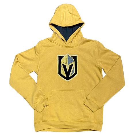 Golden Knights Youth 3rd Jersey Prime Hoodie - Gold