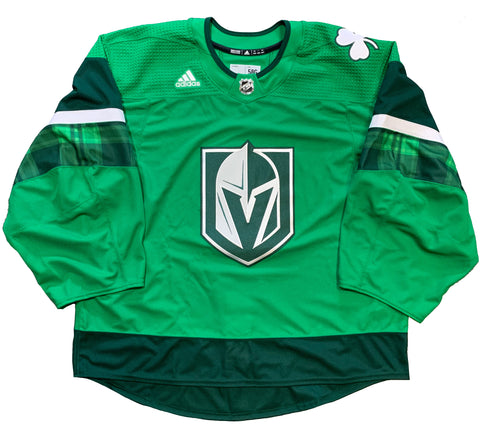 Vegas Golden Knights St. Patrick's Day Warm Up Professional Cut Jersey