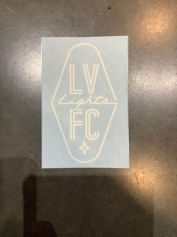 Las Vegas Lights FC Decal