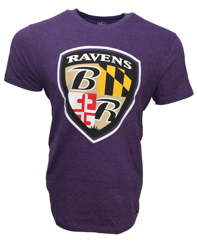 Ravens Men's Imprint Alternate Logo Club T Shirt - Purple
