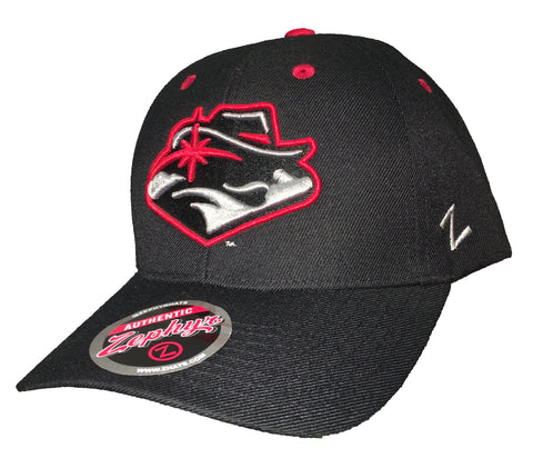 UNLV Competitor New Logo Adjustable Hat - Black