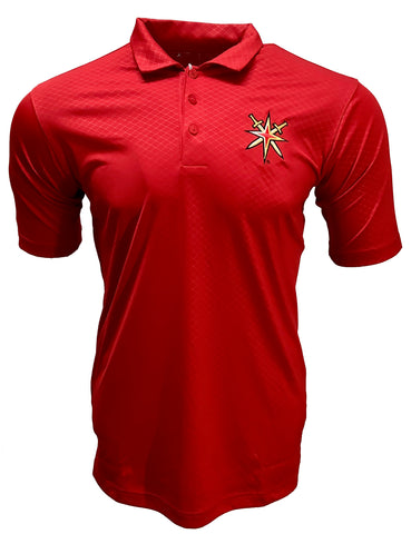 Golden Knights Inspire Coaches Retro Reverse Polo - Red
