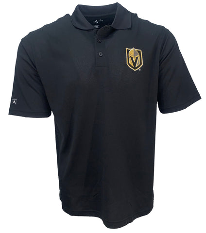 Golden Knights Primary Logo Pique Polo - Black
