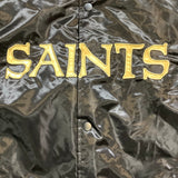 Saints Men's Satin Jacket - Black