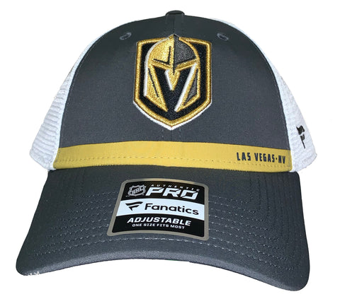 Golden Knights Mesh Rinkside Player Hat