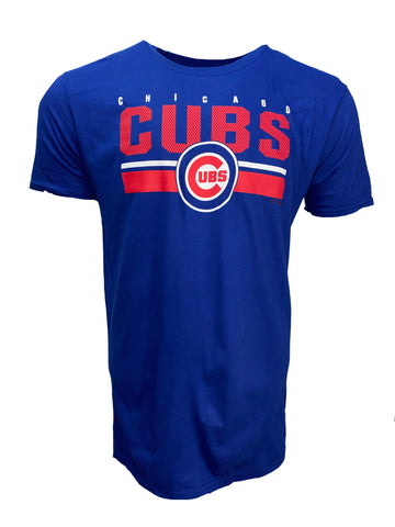 Chicago Cubs Men's End Game Tee - Royal Blue