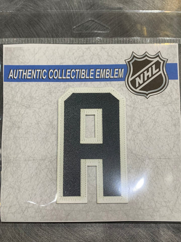Golden Knights Assistant Captain Patch - Gold Alternate Jersey