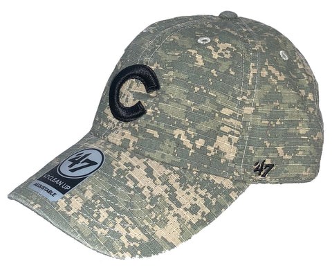 Chicago Cubs Camo Clean Up Hat