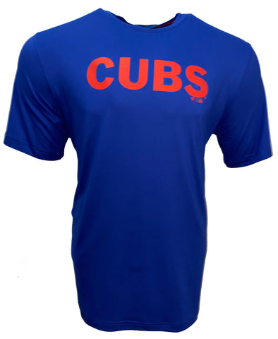 Chicago Cubs Taped Up T-Shirt - Blue