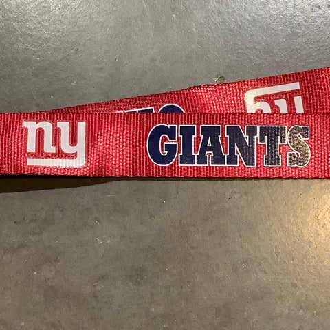 NY Giants Lanyard - Red