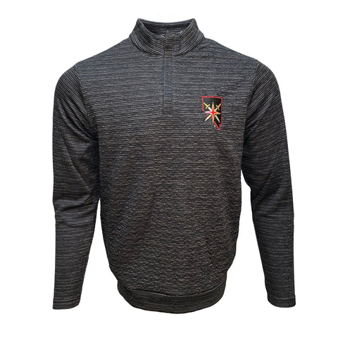Golden Knights Analog 1/4 zip Pullover- Black