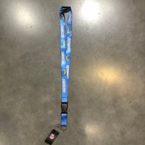 Chargers Lanyard - Blue