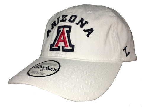 University of Arizona Slouch Adj Hat - White