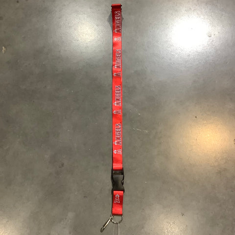 Los Angeles Angels Lanyard- Red
