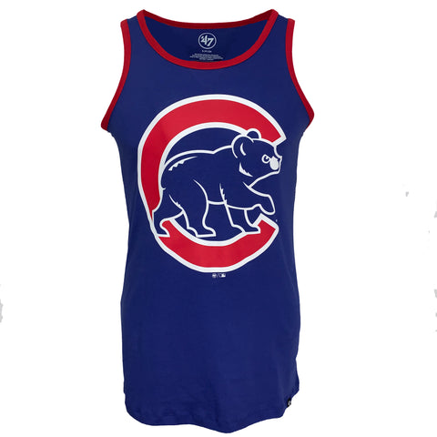 Chicago Cubs Clutch Splitter Tank Top - Royal