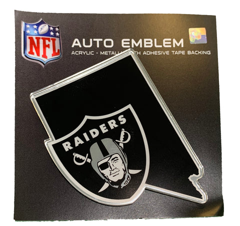 Las Vegas Raiders State Car Emblem