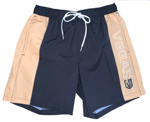 Golden Knights Mens Swim Trunks - Gold/Black