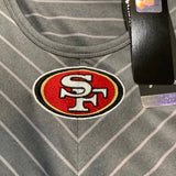 San Francisco 49ers Women's Contour Dri Fit Long Sleeve - Gray