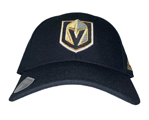 Golden Knights Basic Velcro Adjustable Hat - Black