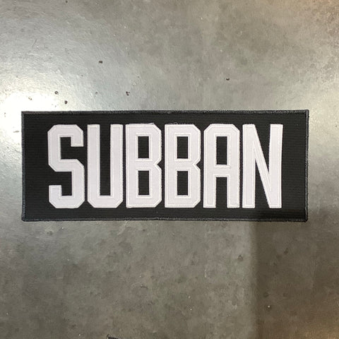 Subban Pre-made Name Plate