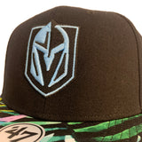 Golden Knights Black Mancoot Adult Snapback Hat