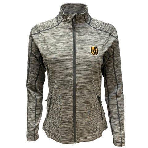 Golden Knights Women's Atlantis Full Zip Jacket - Gray Heather