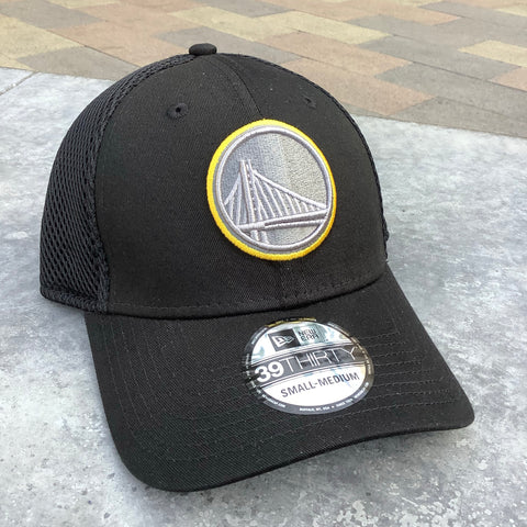Golden State Warriors Flex Fit Stretch Mesh Hat - Black