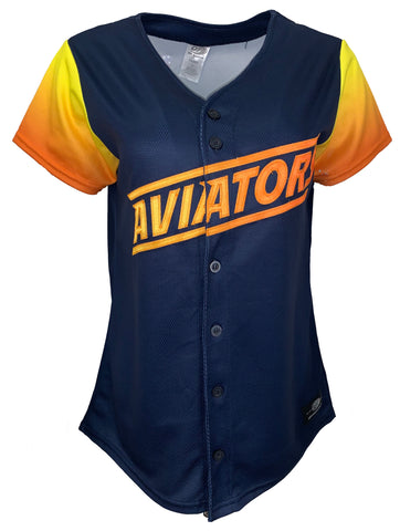 Las Vegas Aviators Women's Alternate Home Jersey Navy