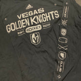 Golden Knights Men's Hockey Symbol Long Sleeve Tee