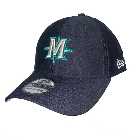 Seattle Mariners 39Thirty Alt Logo Stretch Fit Hat