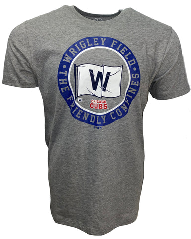 Chicago Cubs Men's Regional Flag Tee - Gray