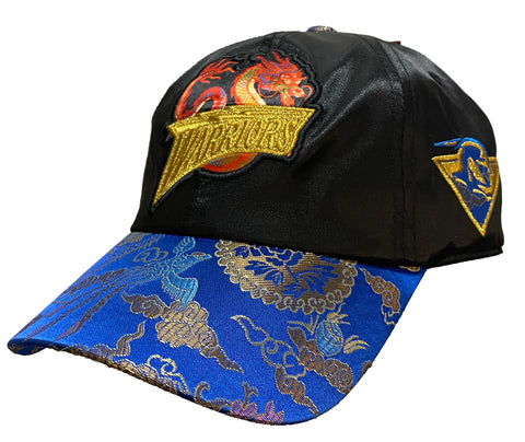 Golden State Warriors Chinese New Year New Dawn Silk Strapback Hat