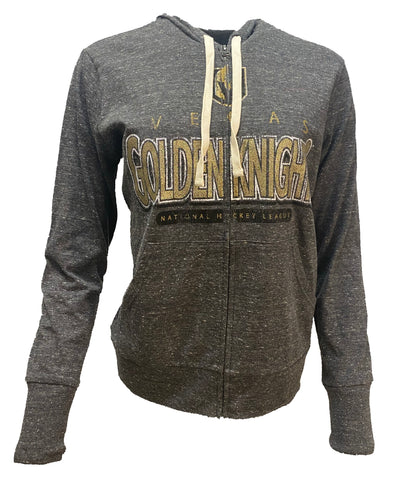 Golden Knights Women's Middle Split Zip Up Hoodie