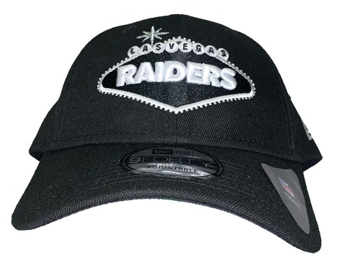 Raiders Las Vegas Sign Adjustable Snapback - Black